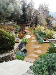 Lyndsey 39 s landscape designs on pinterest dry creek bed for Landscape design jobs new zealand