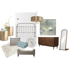 """""""Bre's Master Bedroom"""" by breanna-thurston on Polyvore"""