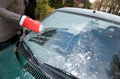 "Winter Windshield Washing | Stretcher.com - ""Make your own windshield washer mixture that won't freeze by combining one quart of rubbing alcohol, one cup of water, and two tablespoons of liquid detergent. This formula will not freeze down to -35 degrees F.""  D."