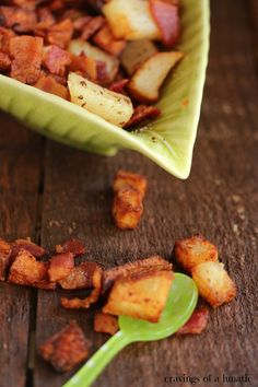 Bacon and Potato Hash by Cravings of a Lunatic