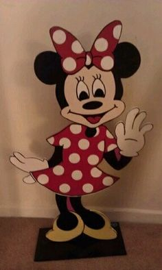 disney creation, minnie mouse, side parti, third birthday, minni mous