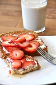 Strawberry Danish French Toast