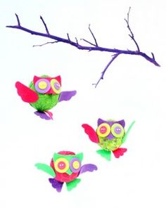 Make an Owl Mobile