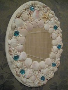Mosaic shell Mirror by MosaicSignature for $49.99