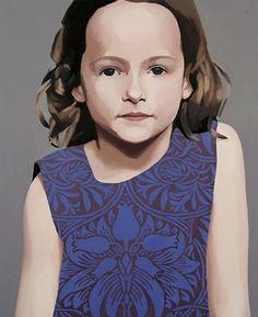 Claerwen James painting