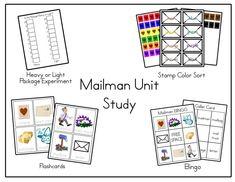 LAWTEEDAH: Unit Study: Mailman