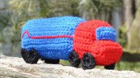 2000 Free Amigurumi Patterns: Amigurumi Big Rig for Crochet: Free Truck Crochet Pattern