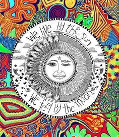 ☯☮ॐ American Hippie Bohemian Psychedelic Art ~ Sun Quote
