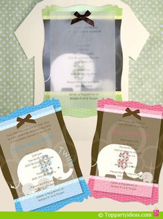 #Elephant Party Invitations