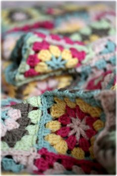 Love those granny squares