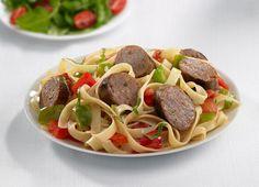 Johnsonville Pork & Chicken Mild Italian Sausage Pasta Toss