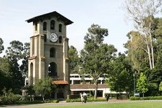 El Campanil at Mills College Oakland is believed to be the first bell tower on a United States college campus and the first reinforced concrete structure on the west coast. Julia Morgan's reputation grew when the tower was unscathed by the 1906 San Francisco earthquake.