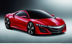 V-6 powered hybrid #Acura NSX is scheduled to come out in a few years.