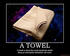 A SPECIAL reminder for everyone, especially the best nerds....  Tomorrow, May 25th is #towelday and tomorrow is even more so because:  Tomorrow is 25/5/12.  25+5+12= ???  You know what the answer is......