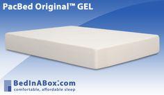 PacBed Original™ GEL Memory Foam Mattress | Mattresses | BedInABox