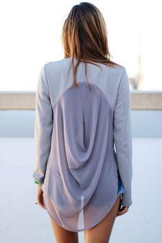 jacket, woman fashion, cloth, augustin blazer, blazers, t shirts, black, summer tops, back details