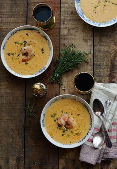 Soup Series: Shrimp Bisque
