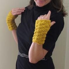 libraries, shells, stitch fingerless, shell stitch, knit, gloves, crochet patterns, stitches, fingerless glove