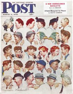 """Gossips"" ~ Saturday Evening Post ~ 6 March, 1948"