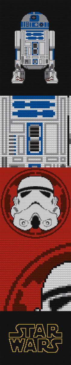 Star Wars LEGO Mosaics