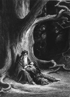 Merlins Apples – The story of Bardsey Island and the Mother Tree - also of Merlin's cave where he is said to be buried in a class coffin. One medieval legend places Avalon on Bardsey, the place King Arthur was taken when injured in his final battle.