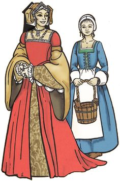 The Tudor Lady's Wardrobe - Margo Anderson's Historic Costume Patterns.  Includes a *wide* variety of pieces for both upper- and working-class women.  $48.00.