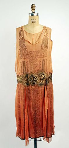 Evening ensemble  Date: 1925–28