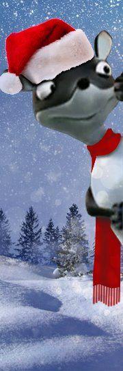 Santa Weasel #garden