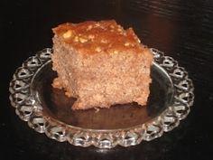 VISIT GREECE  Walnut Cake or Karidopita