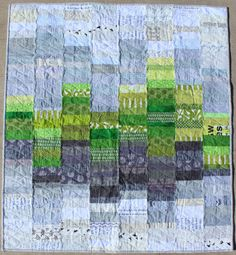Scotland Calling, an Improv Baby Quilt - beautiful quilt by Teaginny Designs.