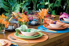 Fun for outdoor party