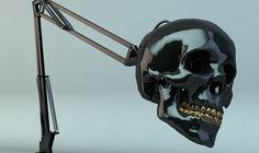 #Skull #lamp