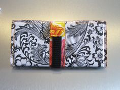Pattern for Money Cash Envelope System Wallet ala Dave Ramsey for Budgeting using Oilcloth PDF
