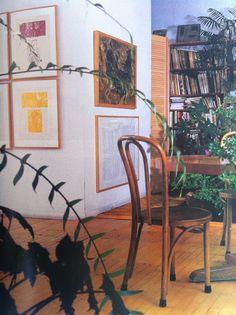 John Cage + Merce Cunningham home, November 1988
