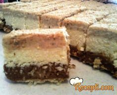 Recept za Posnu pijesak tortu. Za spremanje ovog jela neophodno je pripremiti vodu, puding, šećer, gustin, čokoladu, keks, kokos, orah.