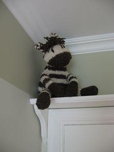 Kids room, over the door shelf