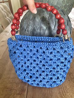 Annoo's Crochet World: Little Cutie Raphia Bag Free Pattern