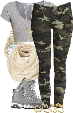 """""""[:"""" by babychrist ❤ liked on Polyvore..dnt like the shoes but this is a cute casual outfit"""