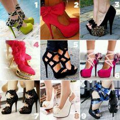 shoes, fashion, red, green, eye catchi, candies, pink, heels, catchi heel
