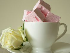 intriguing...Rose Lychee Marshmallows
