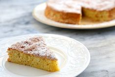 Flourless Lemon Almond Cake | Gluten Free | Posted By: Elise Bauer | Holiday meals can be so heavy, it's refreshing to have a dessert that is relatively light, like this flourless lemon almond cake. This is a classic cake recipe, if I'm not mistaken, from southern Spain.