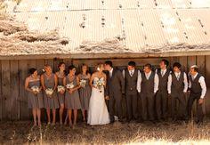 A California, Rustic-Ranch Wedding // Photo: Applemoon Photography