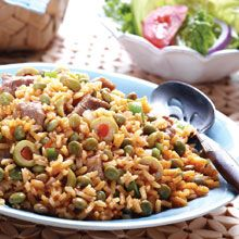 Have a taste of Lation flavor with Arroz con Gandules  (Rice & Pigeon Peas Recipe) by GOYA®