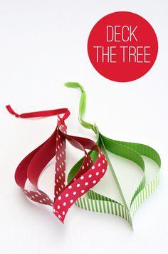 Passo a passo para ornamento de papel | Tutorial for Mod Paper Ornaments