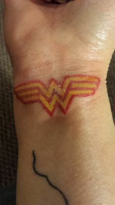 Wonder Woman Tattoo by Bonnie Mailman