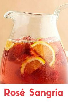 Rosé sangria that co