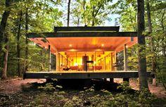 Beautiful daylit woodland home http://bit.ly/1qKBKAy