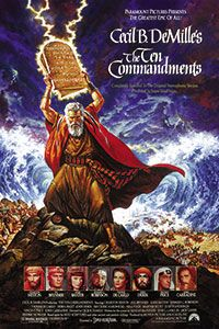 The Ten Commandments - 4.18.14, 4.20.14, and 4.23.14 only