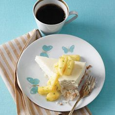 Cheesecake with Macaroon Crust – Cheesecake Recipes - Woman's Day