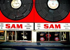 Sam the Record Man in Toronto